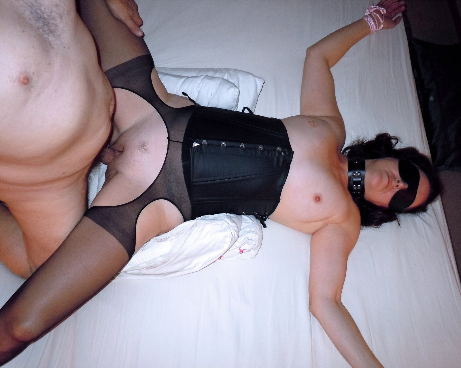 Amateur Wife Tied Up Fucked