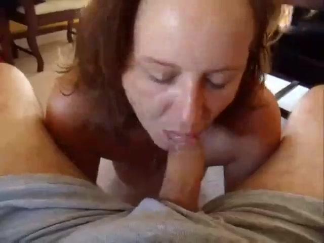 Amateur Brunette Cum Mouth