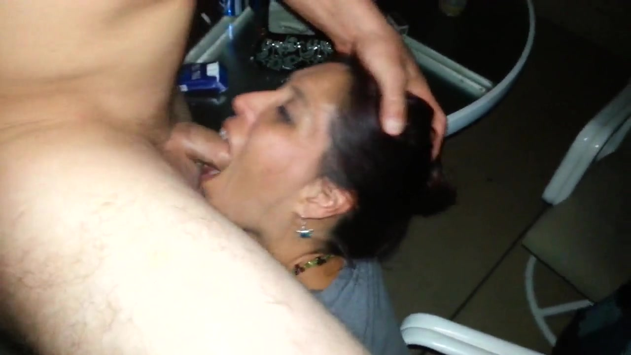 Wife Gives Sloppy Blowjob
